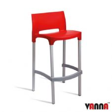 Vanna Bud Bar Stool - Red